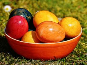Barvy Velikonoc, nebo potravinářského průmyslu?