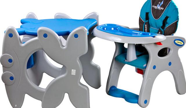 Varování před nestabilními dětskými židličkami