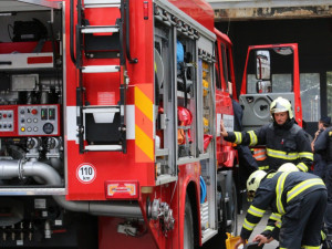 V Kařezu na Rokycansku hořelo v lokomotivě, nikdo se nezranil
