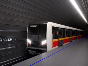 Škoda Transportation dodá do Varšavy 45 souprav metra