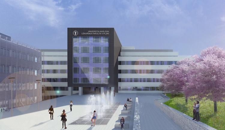 Lékařská fakulta v Plzni dostaví do roku 2022 univerzitní kampus