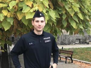 Mladý policista zachránil ve svém volnu život cyklistovi