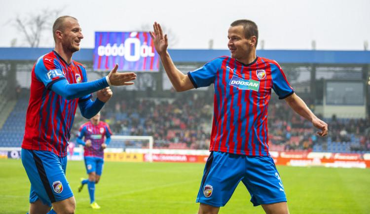 Plzeňští fotbalisté doma po obratu zdolali oslabený Liberec 4:1
