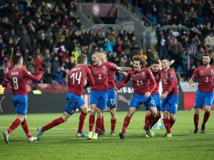 FOTO: Čeští fotbalisté po obratu porazili Kosovo 2:1 a postoupili na Euro