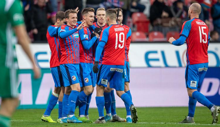 Fotbalisté Plzeň udolali Bohemians 1:0 a upevnili si druhé místo