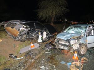 Při nehodě u Draženova zemřela žena a čtyři lidé jsou zranění