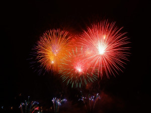V Plzeňském kraji města pořádají novoroční ohňostroje