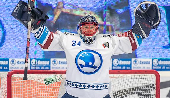 Hokejový brankář Frodl prodloužil smlouvu s Plzní