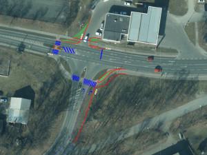 Rušnou křižovatku v Plzni - Borech budou řídit semafory