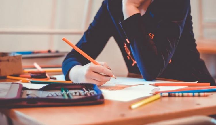 Každý školák nemá doma počítač, řadě žáků nosili úkoly asistenti