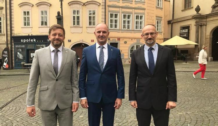 Exhejtman Bernard vede do krajských voleb koalici STAN, Zelených, hnutí PRO Plzeň a Idealistů