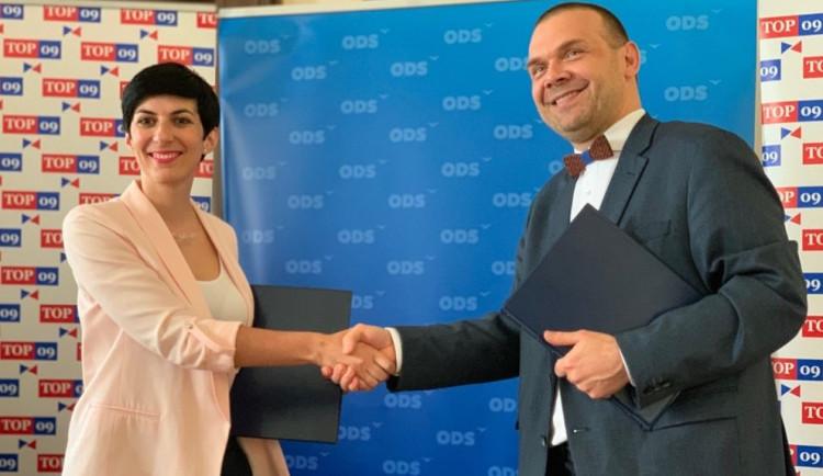 ODS a TOP 09 vyráží do krajských voleb společně, cílem jsou vyhrané volby a post hejtmana