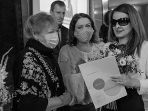 Cenu Olgy Havlové za rok 2020 obdržela Martina Půtová z Plzně