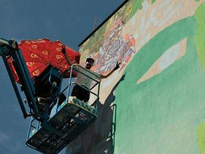 Seznamte se s novými street art skvosty v Plzni, vznikají v rámci festivalu WALLZ