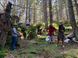 Filmaři z Klatovska pracují na minisérii z období Sámovy říše, zazní také praslovanština