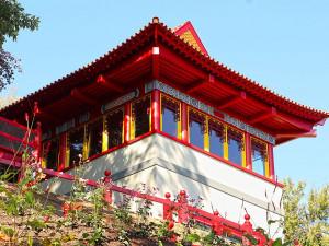 Zoo Plzeň má nový pavilon s čínskými prvky, uvnitř je k vidění asijská fauna i flóra