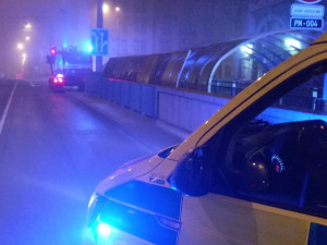 Mladého muže srazil vlak na nádraží Jižní předměstí, nehodu přežil se zraněním