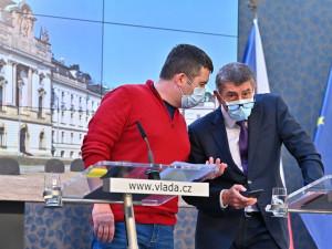 Vláda bude žádat o prodloužení nouzového stavu, řekl ministr Jan Hamáček