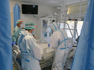 Do večera v ČR přibylo 895 nových pozitivních testů na covid, ubývá i hospitalizovaných