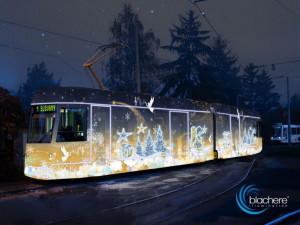 Už je to tady! Nově nazdobená vánoční tramvaj se Plzeňanům představí na první advent