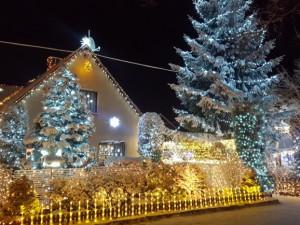 Nejosvětlenější dům Čech se navzdory opatřením rozsvítí i letos