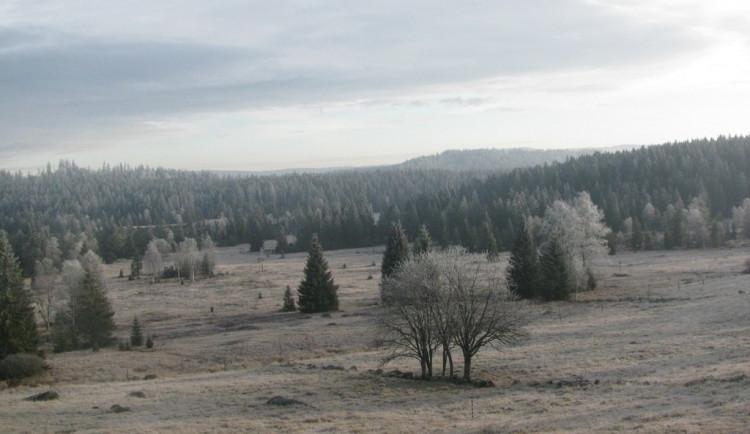 Počasí: Nejchladněji bylo šumavské Kvildě, kde teploty klesly na minus 16,5 stupně