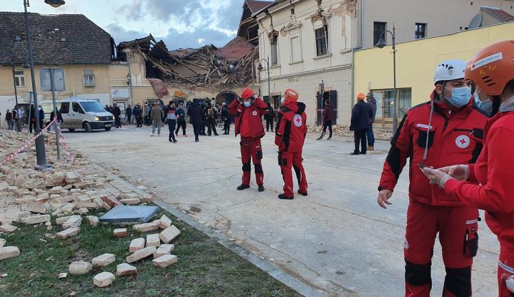 Hasiči dnes vypraví materiální pomoc pro zemětřesením zasažené Chorvatsko