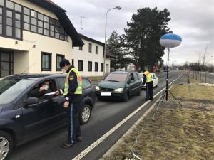 Bavorští policisté provádějí kontroly na bývalých hraničních přechodech v ČR