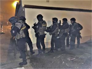Drama na Plzeňsku. V akci proti ozbrojenému muži byla policejní zásahovka i vyjednavač