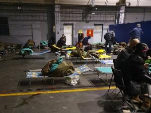 Plzeňské evakuační centrum pro bezdomovce využívalo v mrazivým dnech 70 osob
