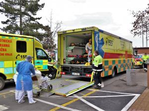 Domažlická nemocnice navýšila počet lůžek pro covid+ pacienty ze 43 na 127