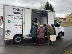 Provozovatel pojízdné prodejny navrhuje, aby na Horažďovicku vznikly i výdejní boxy