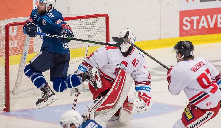 Ani druhý zápas indiánům s HC Olomouc nevyšel, Plzeň prohrála 2:3