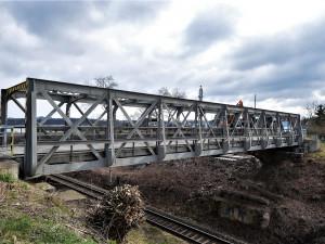 Frekventovanou lávku v Plzni na Valše čeká uzavírka na čtyři měsíce, projde celkovou rekonstrukcí