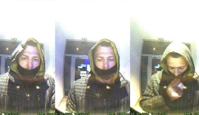 Zloděj okradl řidiče o platební kartu, při výběru peněz ho zachytila kamera