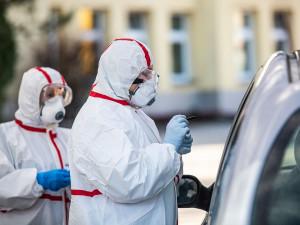 Za pondělí přibylo v kraji 187 případů koronavirové nákazy, epidemie nadále oslabuje