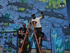 Chcete změnit svůj dům na umělecké dílo? Festival WALLZ hledá plochy pro pomalování