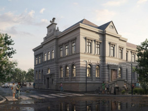 Podívejte se na vítězný návrh na novou podobu bývalé sokolovny v Rokycanech