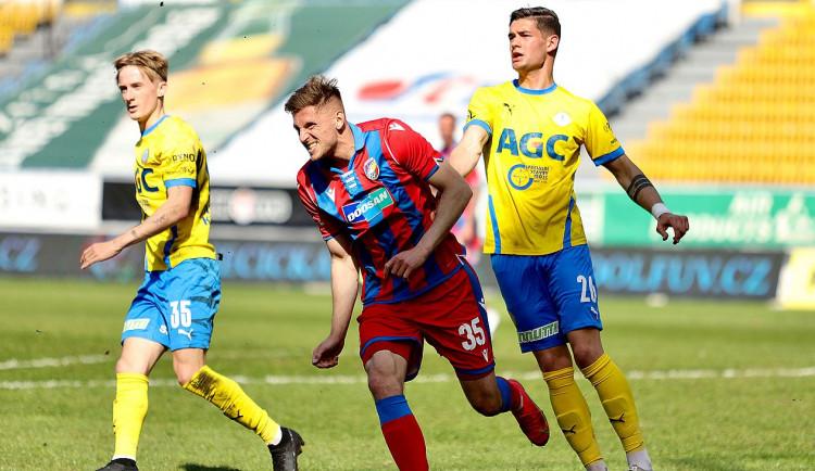 Viktoriáni vezou z Teplic tři body, domácí porazili 0:1 gólem Filipa Kaši