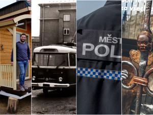 DUBEN 2021: Fenomén maringotek, trolejbusy i spory v řadách městské policie