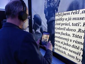 Unikátní výstava odvypráví příběhy pamětníků pomocí moderních technologií