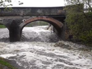 Pršet jen tak nepřestane, řeky v Plzeňském kraji jsou už na druhém stupni povodňové aktivity
