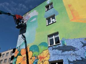 Street art umělci vyzdobí deset míst v Plzni, největší plocha má tisíc metrů