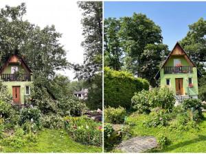 S následky bouře z minulého týdne si majitelé poškozených objektů už poradili, dnes se žene další vichřice