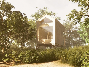 Česká firma navrhla unikátní dřevěné domečky. Tripeek nadchne jako chalupa i investice
