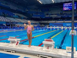 Životní úspěch plavkyně Horské, pokořila osobní rekord a bojovala o finálovou osmičku
