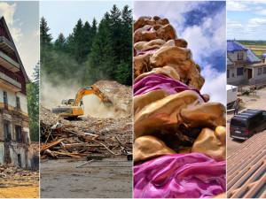 ČERVENEC 2021: Konec slavné legendy, Cake Tower i nezištná pomoc obětem tornáda