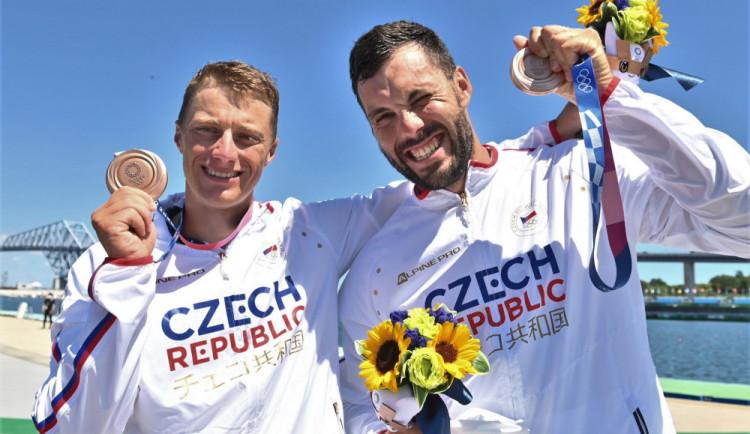 Se sportem jsem začínal u nás v Koterově, říká bronzový medailista z Tokia Radek Šlouf