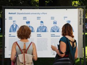 Západočeská univerzita v Plzni slaví 30 let od svého založení, osudové okamžiky připomíná výstava