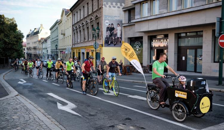 Cyklisté chtějí projížďkou po Plzni upozornit na problémy v dopravě